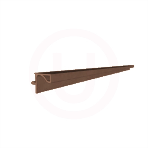Units Online - 3900x19.6x20mm Alu Profile For Wall Units Brushed Copper