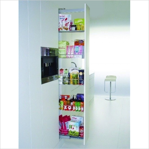 Kessebohmer - Classic 400mm Full Extension Larder Unit, 1800-2200mm High