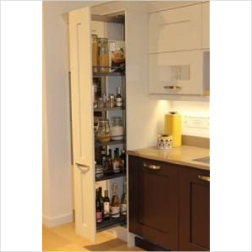 Kessebohmer - Style 300mm Studio Height Full Extension Larder Unit