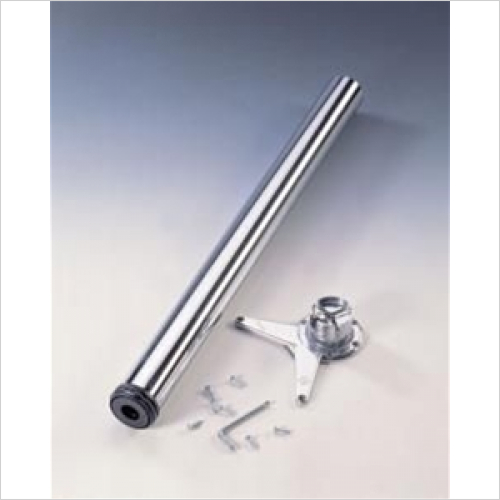 PWS - Adjustable Worksurface Support Leg 870mm High