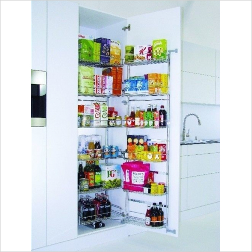 Kessebohmer - Classic Tandem Larder Unit With Soft-Close 500mm W, 1700mm H