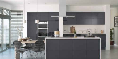 Lucente gloss kitchens from TKC