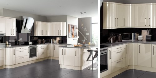 Lusso gloss kitchens from TKC