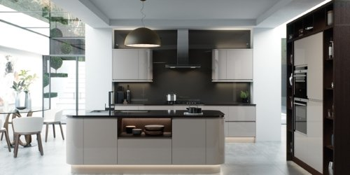 Strada gloss kitchens from Kitchen Stori