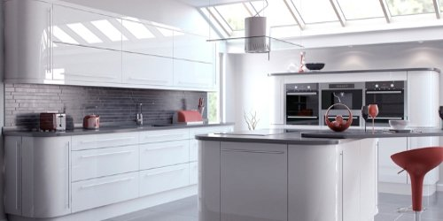 Vivo gloss kitchens from TKC