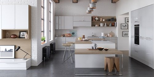 Zola gloss kitchens from Kitchen Stori UForm