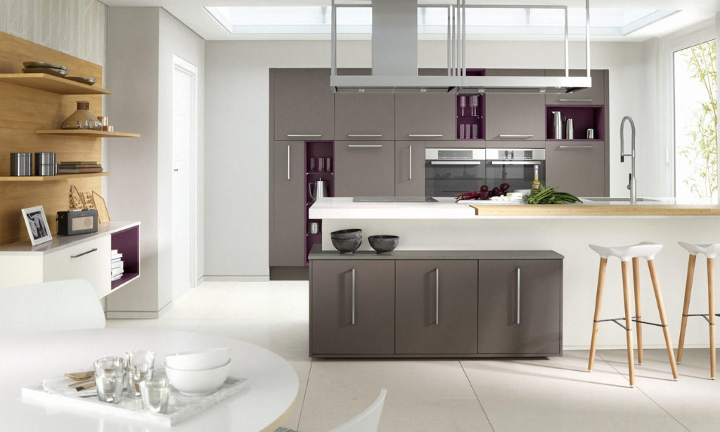 Porter gloss kitchens from Second Nature