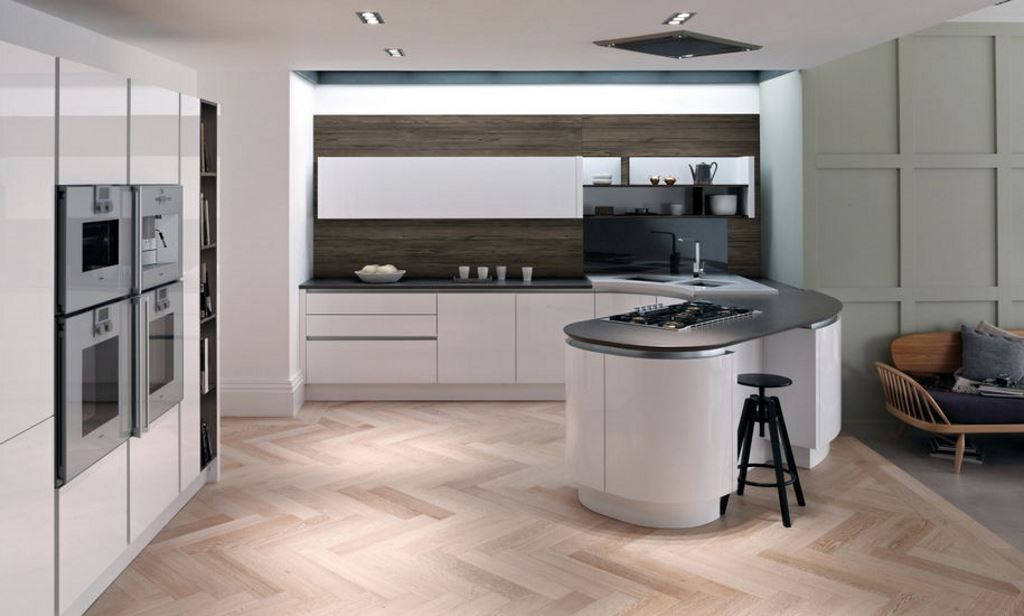 Tomba gloss kitchens from Second Nature