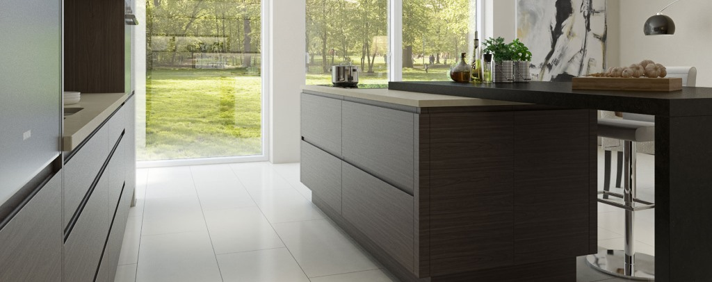 Isala handleless kitchen