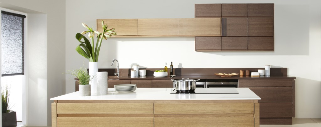 Malmo Bleached Oak kitchen