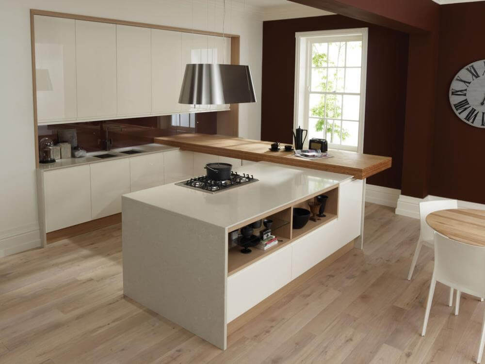Remo gloss kitchen from Second Nature