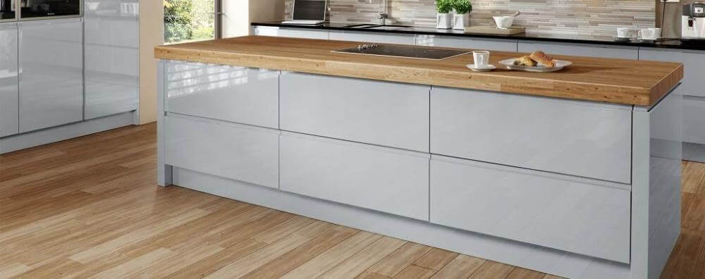 Welford handleless kitchen from Multiwood