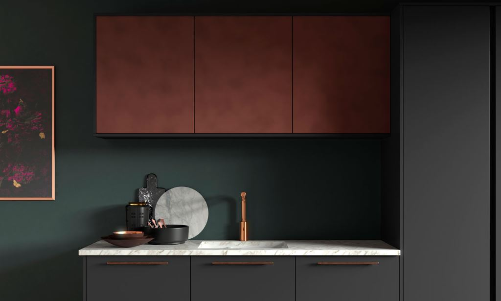Cosdon Foundry modern kitchen from Multiwood
