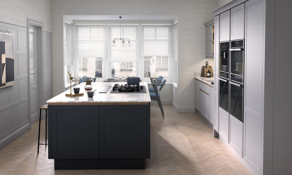 Ellerton painted kitchens from Second Nature