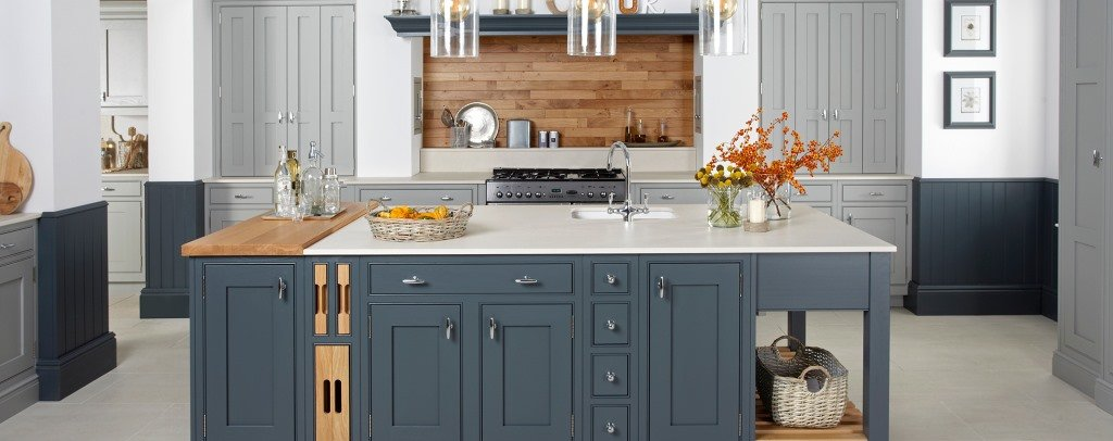 Langton painted inframe kitchen & Painted kitchens - Kitchen Units Online