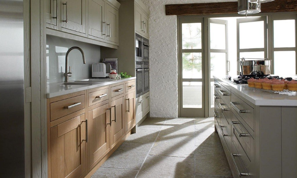 Milton painted inframe kitchens from Second Nature