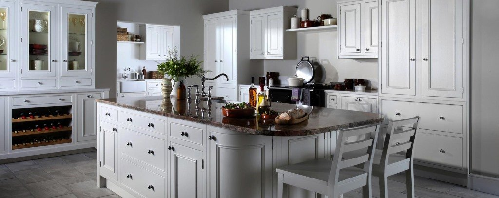 Salcombe painted inframe kitchen ...