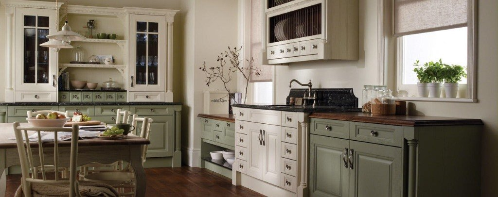Classic painted kitchens from Second Nature