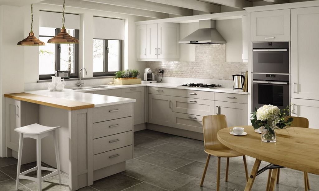 Shaker painted kitchens from Second Nature