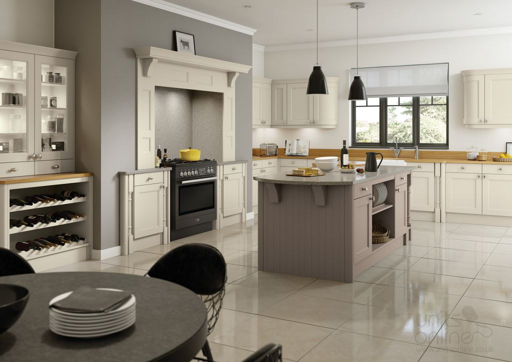 Shaker painted kitchens from TKComponents
