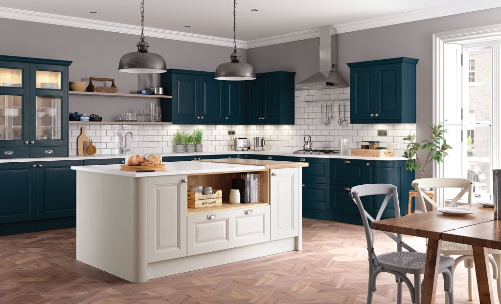 Classic painted kitchens from Kitchen Stori/Uform