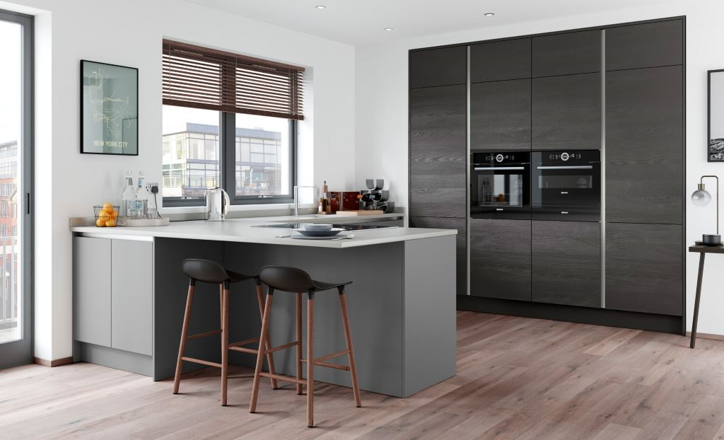 Modern painted kitchens from Kitchen Stori/Uform