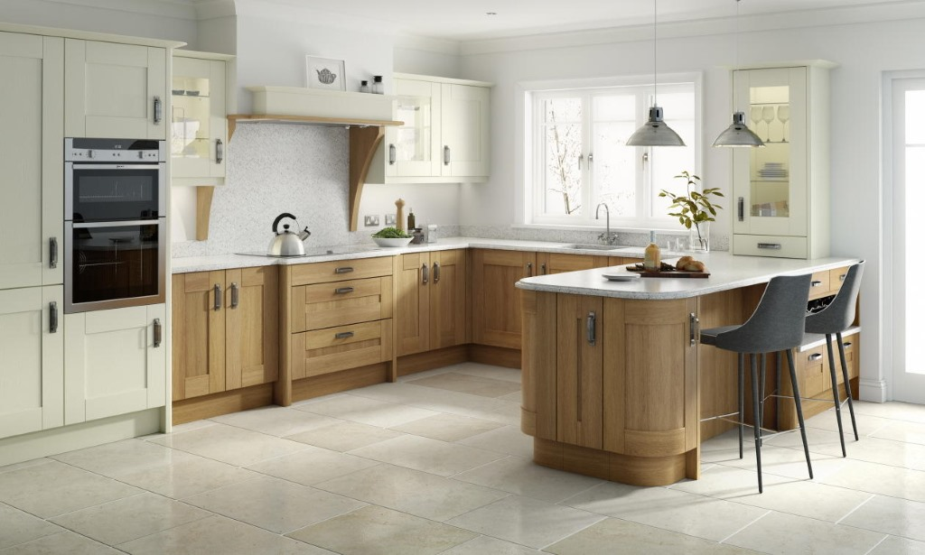 Broadoak natural shaker kitchen
