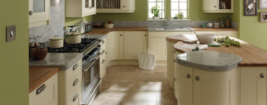 Broadoak painted shaker kitchen