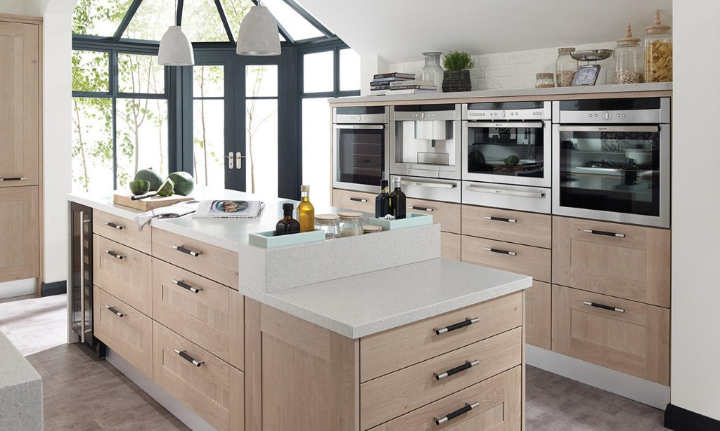 Broadoak rye shaker kitchen