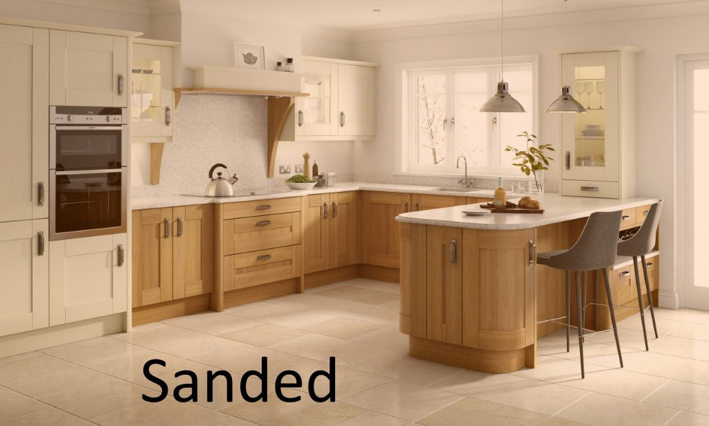 Broadoak sanded shaker kitchen