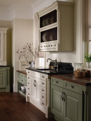 Cornell painted kitchen