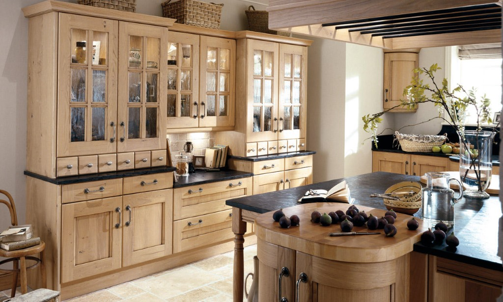 Croft Washed Oak Classic Kitchen