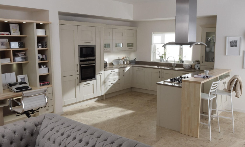 Milbourne Almond Shaker Kitchen