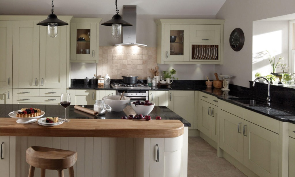 Milbourne Sage Shaker Kitchen
