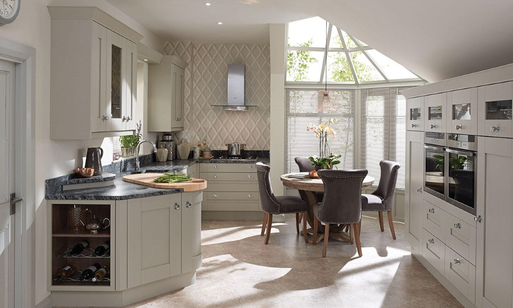 Milbourne Stone Shaker Kitchen