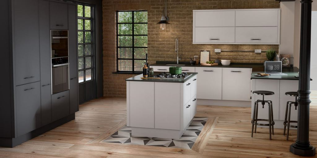 Parker modern painted kitchen