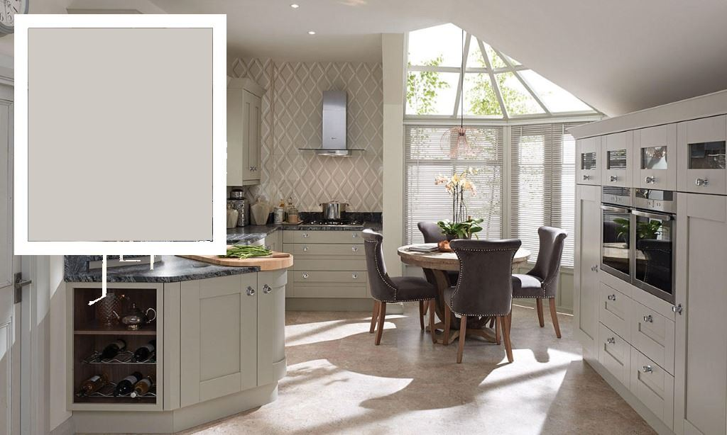 Milbourne Dove Grey Shaker Kitchen