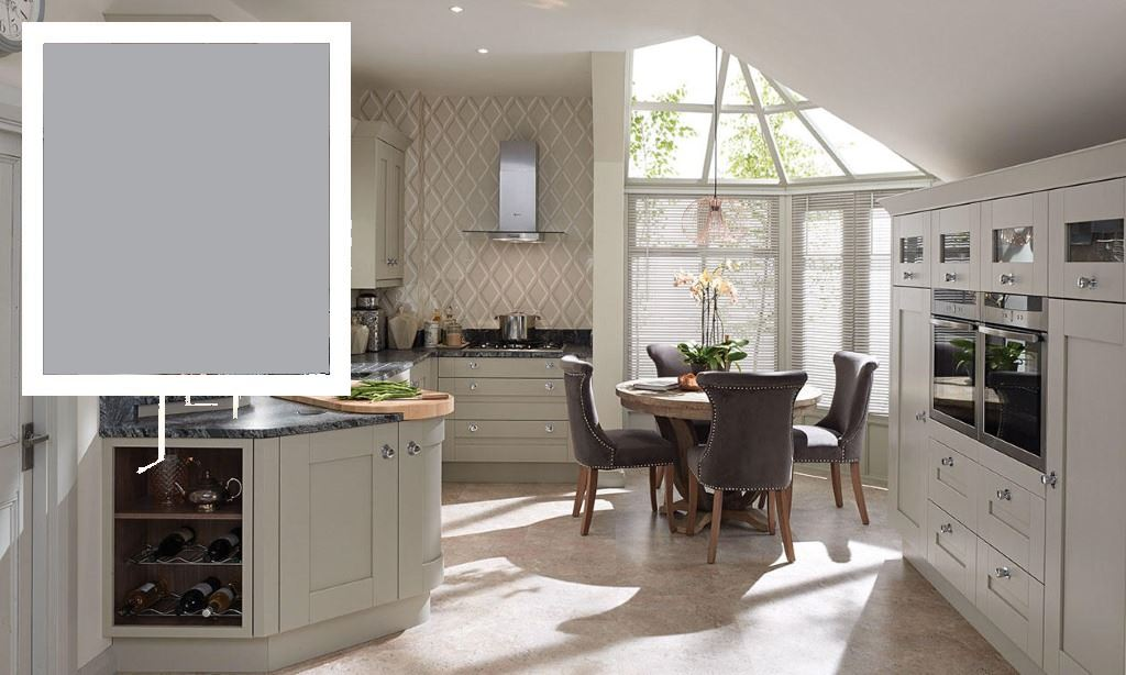Milbourne Dust Grey Shaker Kitchen