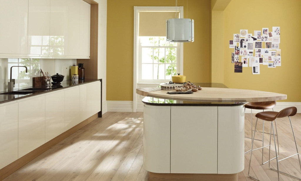 Remo alabaster gloss kitchen