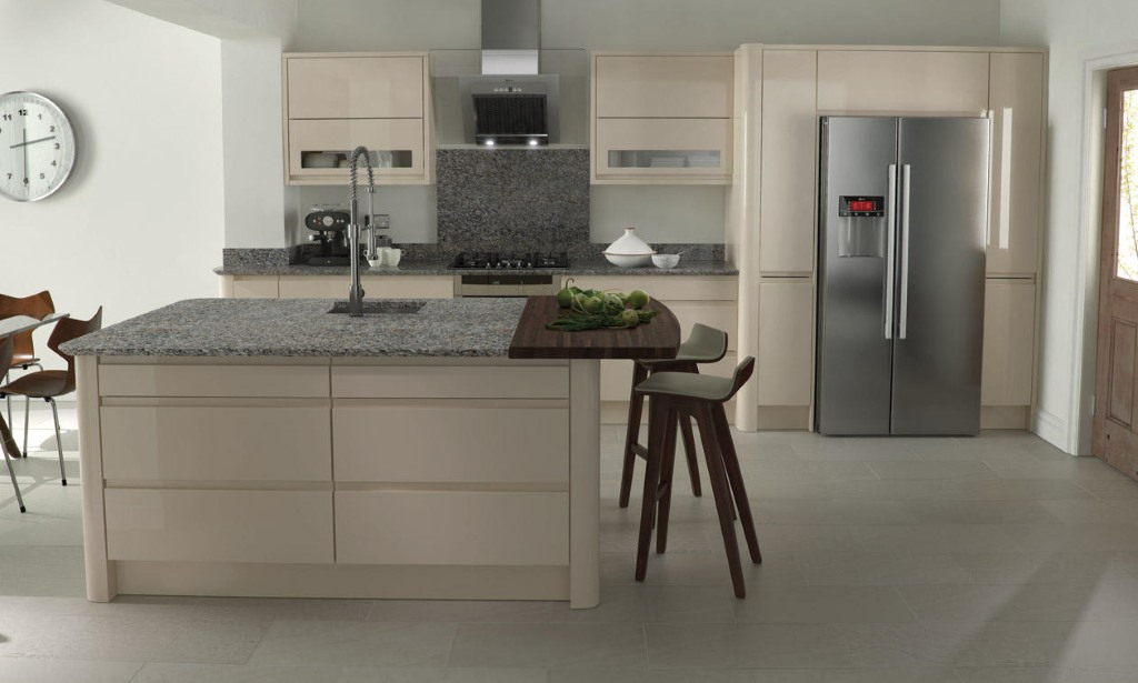 Remo beige gloss kitchen
