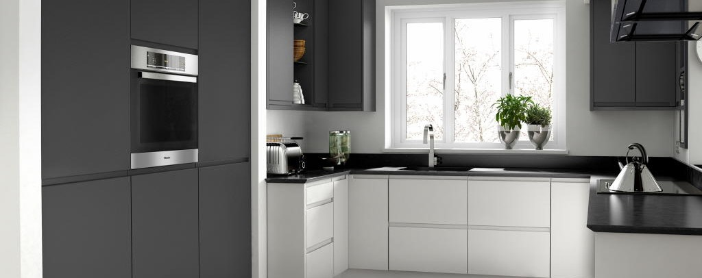 Remo graphite gloss kitchen