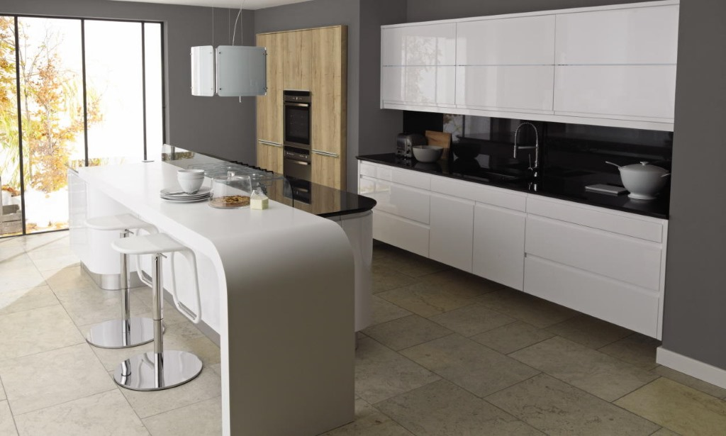 Remo white gloss kitchen