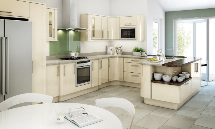 Second Nature kitchens - Avany ivory