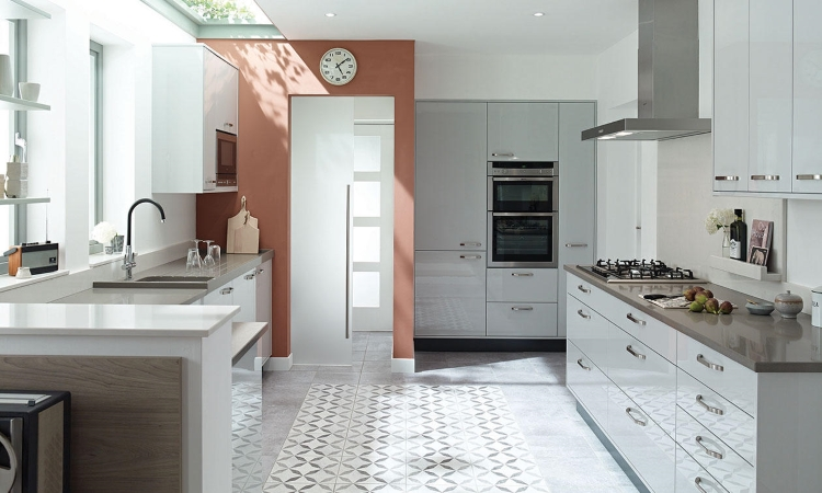 Second Nature kitchens - Porter grey