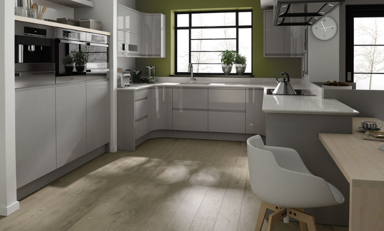 Second Nature kitchens - Remo dove grey