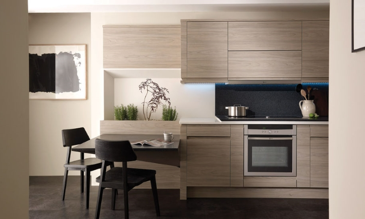 Second Nature kitchens - Remo elm