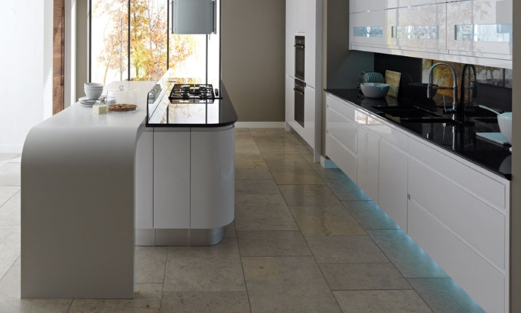 Second Nature kitchens - Remo gloss white