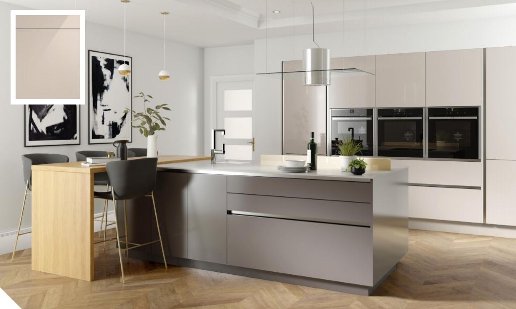 Unity Gloss Cashmere Kitchen