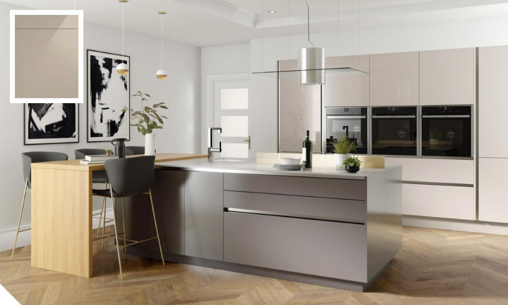 Unity Gloss Dakar Kitchen