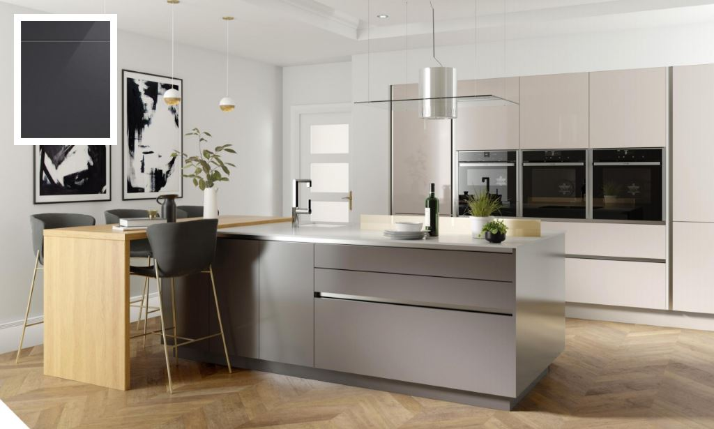 Unity Gloss Graphite Kitchen